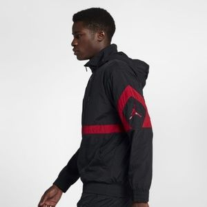 huge discount 84ac0 6b4aa Jordan Jackets   Coats - JORDAN SPORTSWEAR DIAMOND TRACK JACKET BLACK RED